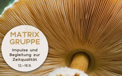 Impulse und Begleitung zur Zeitqualität vom 12.9.-18.9.2021