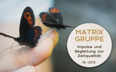 Impulse und Begleitung zur Zeitqualität vom 19.9.-25.9.2021
