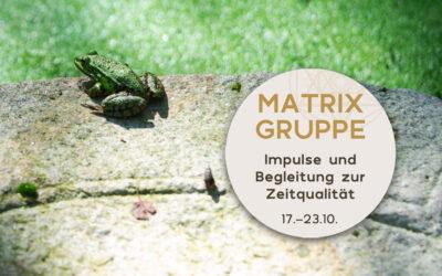 Impulse und Begleitung zur Zeitqualität vom 17.10.-23.10.2021