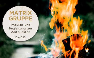 Impulse und Begleitung zur Zeitqualität vom 10.10.-16.10.2021